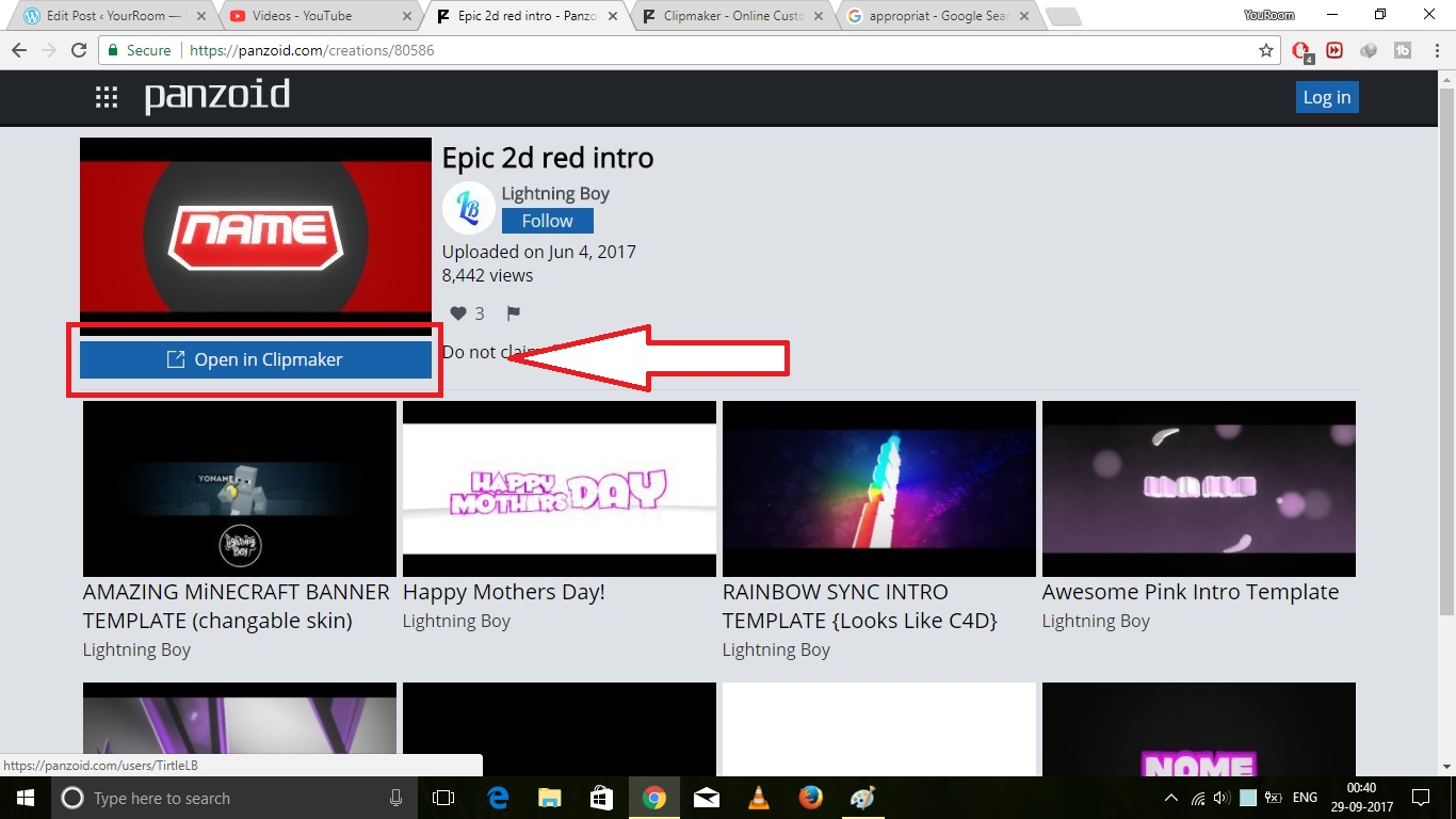 Beste Kostenlose Youtube Intros Vorlagen Fotos - Beispiel ...